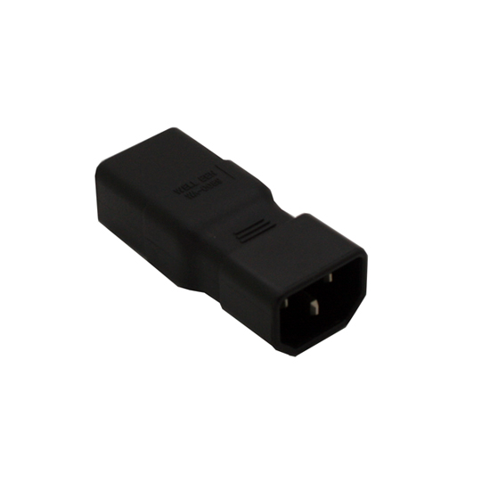 IEC 320 C14 to C19 power adapter, C19 to C14 power adapter for PDU cord