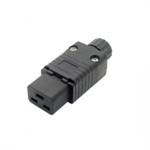 IEC 320 C19  connector, IEC 320 C19 16A 20A rewirable socket