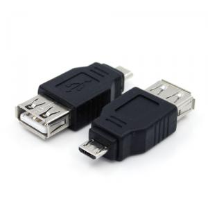 USB A female to Micro USB B male adapter
