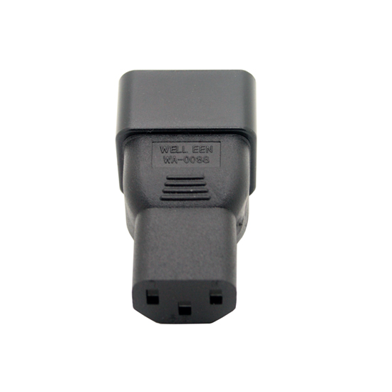 IEC 320 C13 to IEC 320 C20 adapter, C20 to C13 adapter