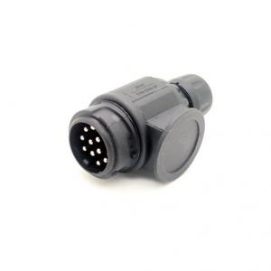 New 13 Pin Round EU trailer plug for Trailer and Caravans