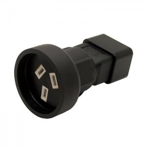 IEC 320 C20 Male to SAA Australia 3 Pin Female Power adapter